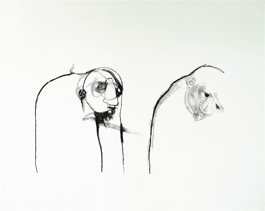 Original art for sale at UGallery.com | 128 by Natalia Pawlus | $1,100 | printmaking | 32' h x 40' w | ..\art\printmaking-128