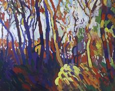 Abstract art,Expressionism art,Impressionism art,Nature art,Representational art,acrylic painting,Autumn Colors