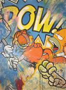 Pop art,Street Art art,Representational art,acrylic painting,Pop Fiction 2.0