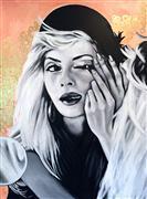 People art,Pop art,Fashion art,Representational art,oil painting,Untitled