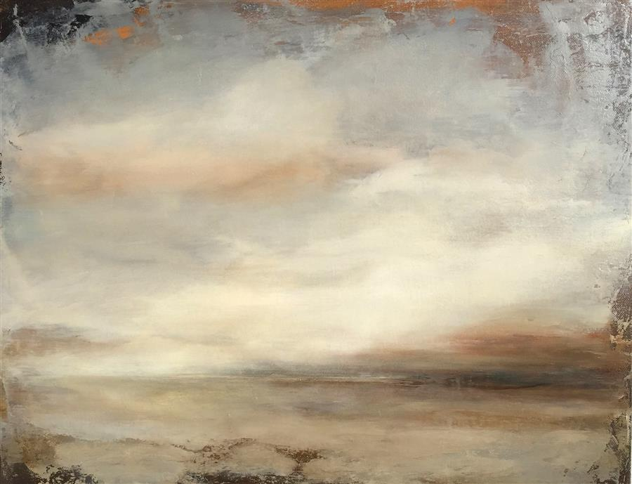 Original art for sale at UGallery.com | Cloud Illusions by FAITH TAYLOR | $800 | Oil painting | 16' h x 20' w | ..\art\oil-painting-Cloud-Illusions