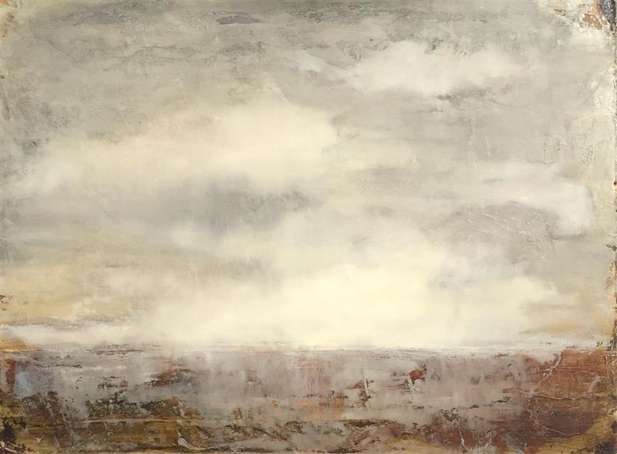 Original art for sale at UGallery.com | Storm by FAITH TAYLOR | $1,025 | Oil painting | 18' h x 24' w | ..\art\oil-painting-Storm-40408