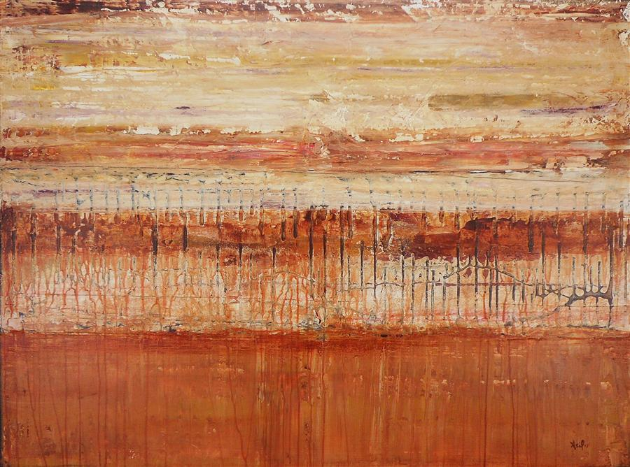 Original art for sale at UGallery.com | Sand Storm by LISA CARNEY | $975 |  | 30' h x 40' w | ..\art\acrylic-painting-Sand-Storm