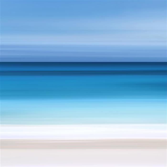 Original art for sale at UGallery.com | Ombre Ocean by Katherine Gendreau | $250 | photography | 20' h x 20' w | ..\art\photography-Ombre-Ocean