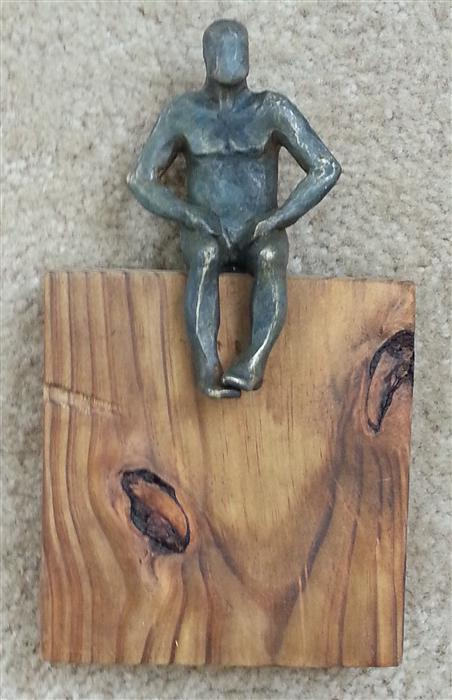 Original art for sale at UGallery.com | U-22  Small Square World of Wood by YELITZA DIAZ | $450 | Sculpture | 10' h x 6' w | ..\art\sculpture-U-22-Small-Square-World-of-Wood