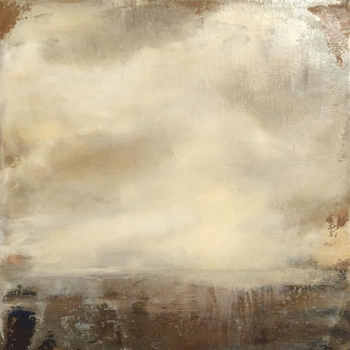 Original art for sale at UGallery.com | Completely Drenched by FAITH TAYLOR | $425 | Oil painting | 12' h x 12' w | ..\art\oil-painting-Completely-Drenched