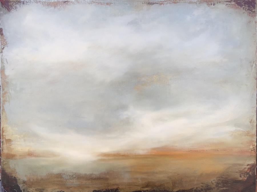 Original art for sale at UGallery.com | Unveiling the Horizon by FAITH TAYLOR | $1,225 |  | 22' h x 28' w | ..\art\oil-painting-Unveiling-the-Horizon