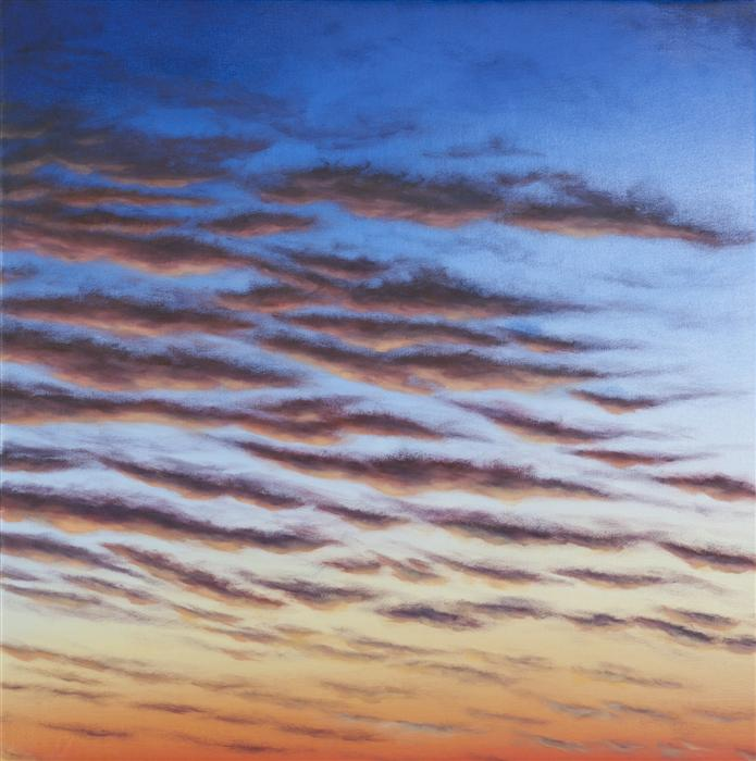 Original art for sale at UGallery.com | December Dawn by LAURA GUESE | $1,625 |  | 32' h x 32' w | ..\art\oil-painting-December-Dawn