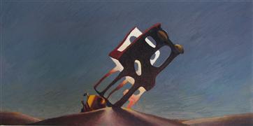 Architecture art,oil painting,Distant Voices
