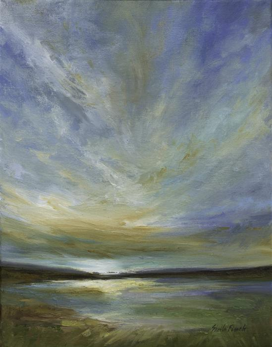 Original art for sale at UGallery.com | Updraft by SHEILA FINCH | $975 |  | 14' h x 11' w | ..\art\oil-painting-Updraft