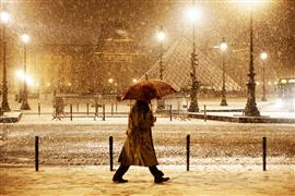 Architecture art,Travel art,Representational art,Street Photography art,photography,A Walk in the Snow Light