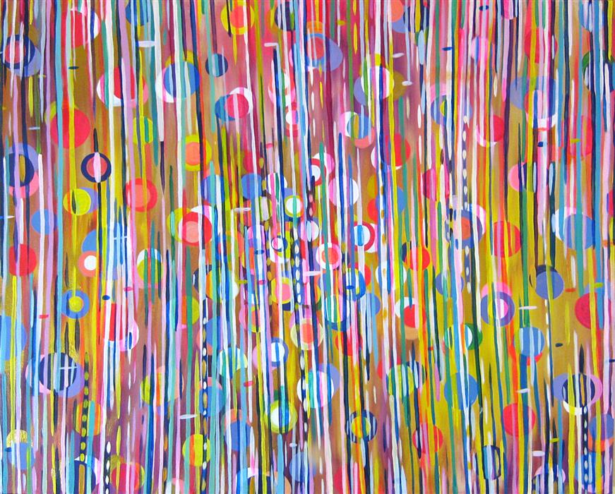 Original art for sale at UGallery.com | After Effect by NATASHA TAYLES | $850 | Acrylic painting | 24' h x 30' w | https://www.ugallery.com/ProductDetail.aspx?ProductID=43756