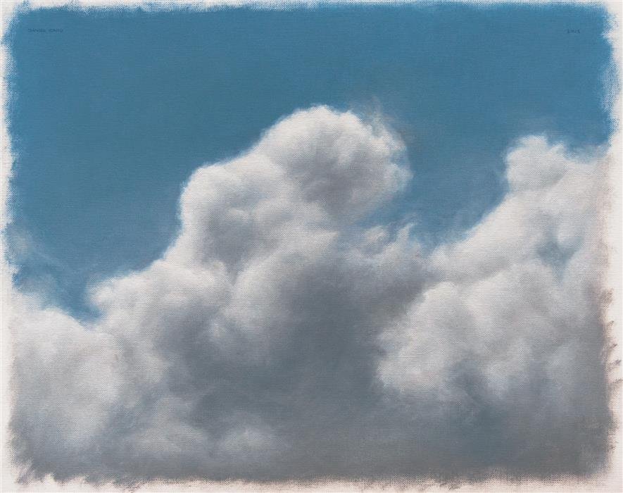 Original art for sale at UGallery.com | Clouds by DANIEL CARO | $650 |  | 11' h x 13.9' w | ..\art\oil-painting-Clouds-44025