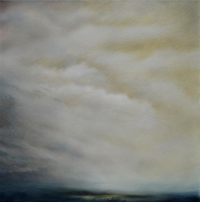 Original art for sale at UGallery.com | Summer Downpour by KELLY MONEY | $600 | Oil painting | 20' h x 20' w | ..\art\oil-painting-Summer-Downpour