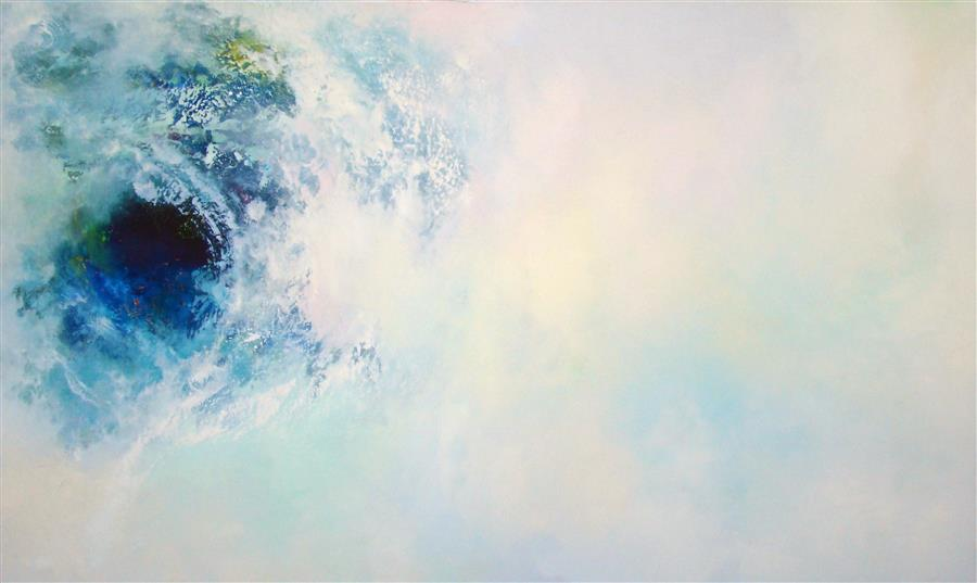 Original art for sale at UGallery.com | Selah - Vortex by WES SUMRALL | $4,150 |  | 36' h x 60' w | ..\art\oil-painting-Selah-Vortex