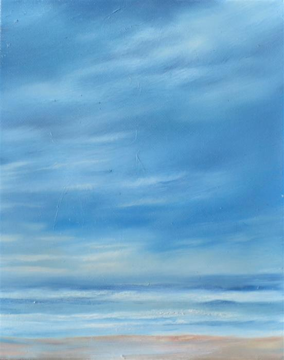 Original art for sale at UGallery.com | Beach in Cape Cod by KELLY MONEY | $375 |  | 10' h x 8' w | ..\art\oil-painting-Beach-in-Cape-Cod