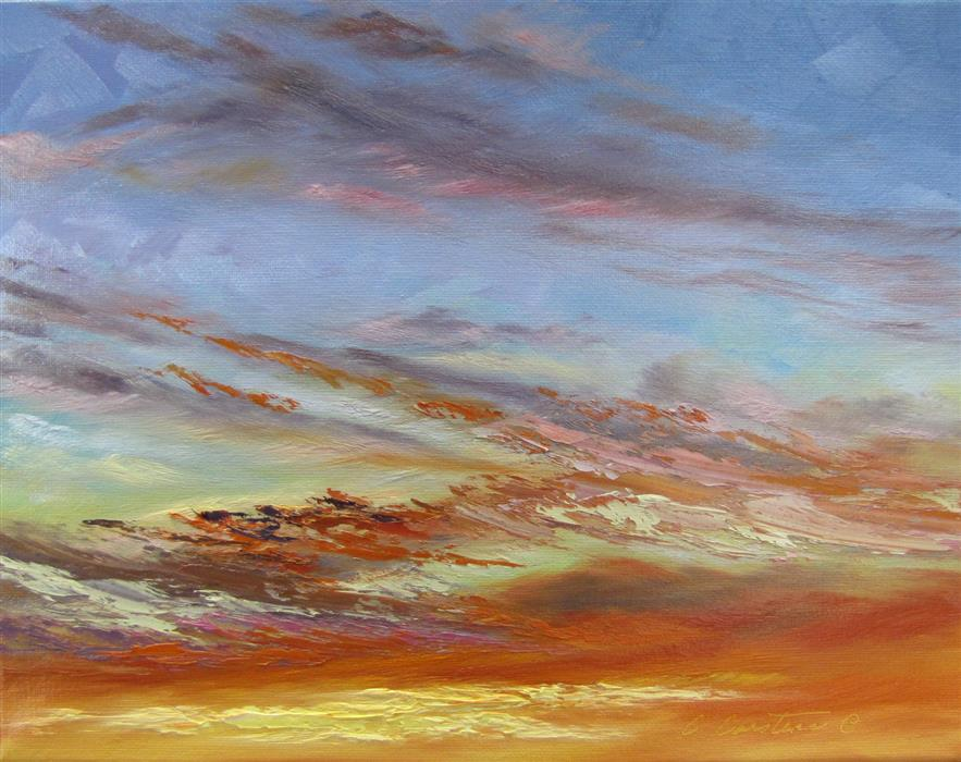 Original art for sale at UGallery.com | Magic Moments by CYNDY CARSTENS | $525 |  | 11' h x 14' w | ..\art\oil-painting-Magic-Moments
