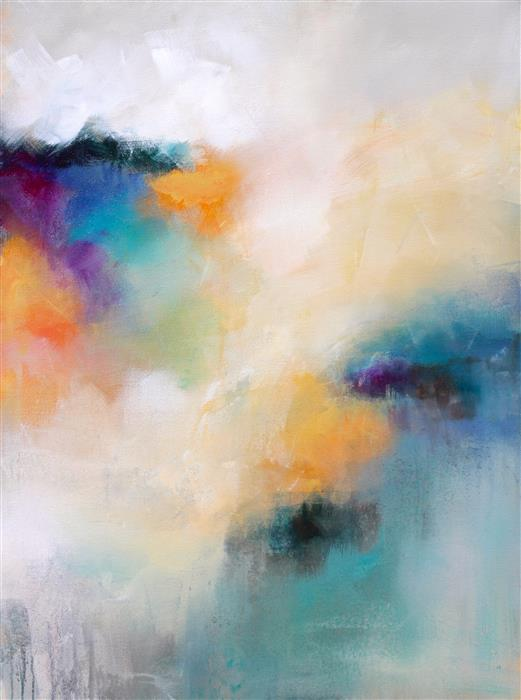 Original art for sale at UGallery.com | Color Story by KAREN HALE | $2,950 |  | 40' h x 30' w | ..\art\acrylic-painting-Color-Story