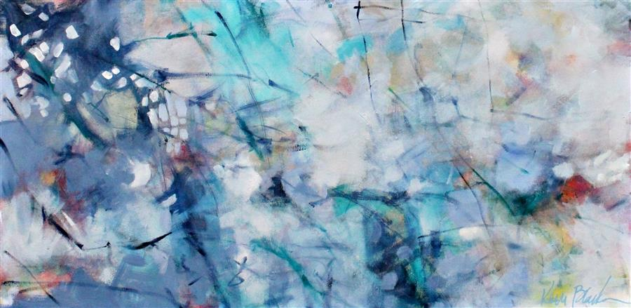 Original art for sale at UGallery.com | Whisper by KERRI  BLACKMAN | $725 |  | 18' h x 36' w | ..\art\acrylic-painting-Whisper-44719