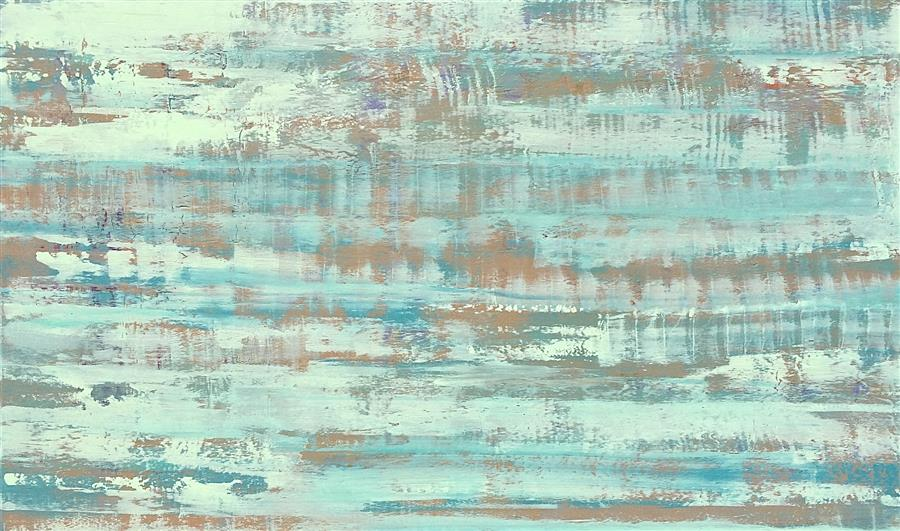 Original art for sale at UGallery.com | Gentle Haze by ALICIA DUNN | $3,350 |  | 36' h x 60' w | ..\art\acrylic-painting-Gentle-Haze