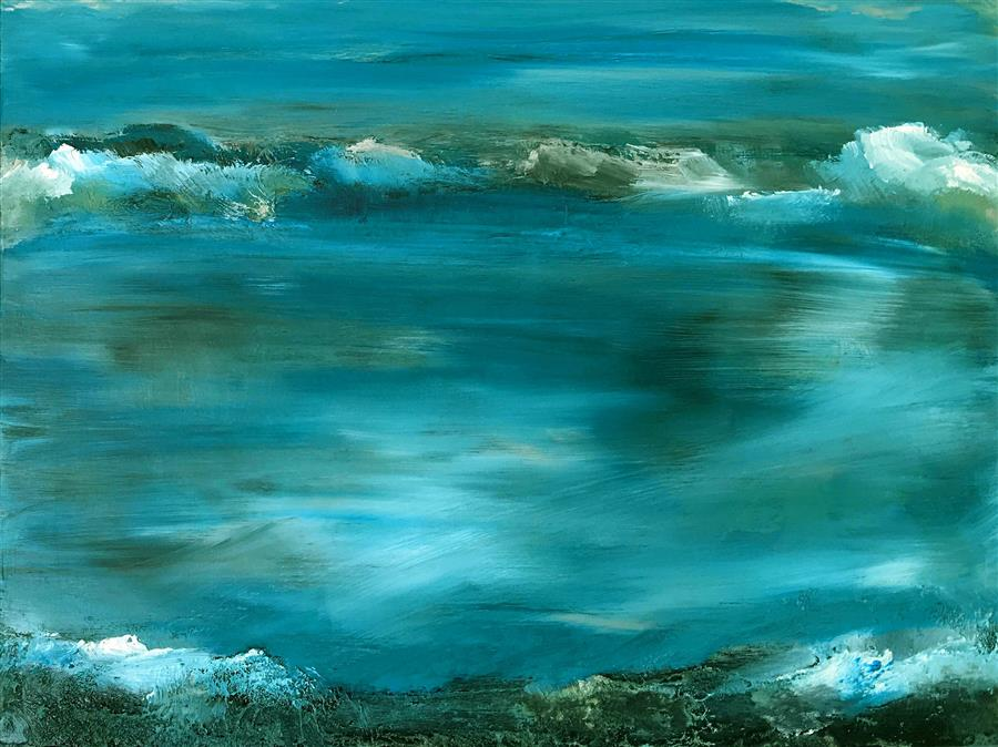 Original art for sale at UGallery.com | Eternal I by MICHELE MORATA | $975 |  | 12' h x 16' w | ..\art\oil-painting-Eternal-I