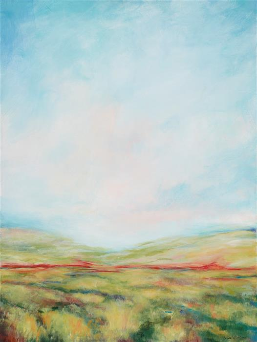 Original art for sale at UGallery.com | Promises by CAROLE MOORE | $3,325 |  | 48' h x 36' w | ..\art\acrylic-painting-Promises