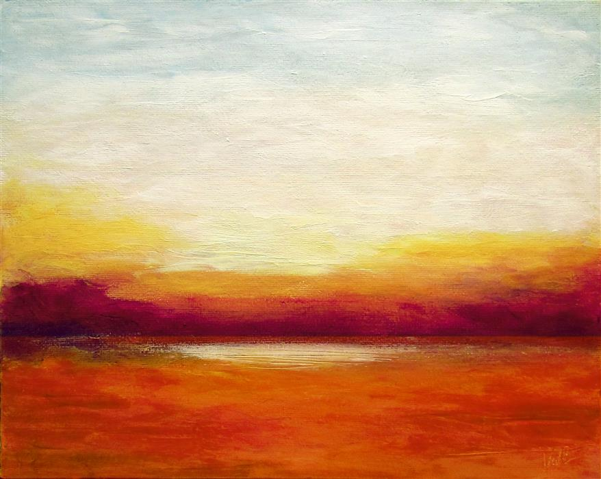 Original art for sale at UGallery.com | So Far Away by VALERIE BERKELY | $250 | Oil painting | 8' h x 10' w | ..\art\oil-painting-So-Far-Away