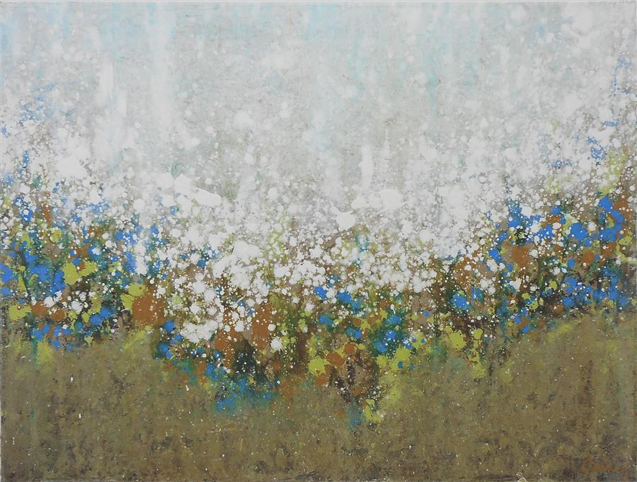 Original art for sale at UGallery.com | Frosted Morning by LISA CARNEY | $775 |  | 18' h x 24' w | ..\art\acrylic-painting-Frosted-Morning