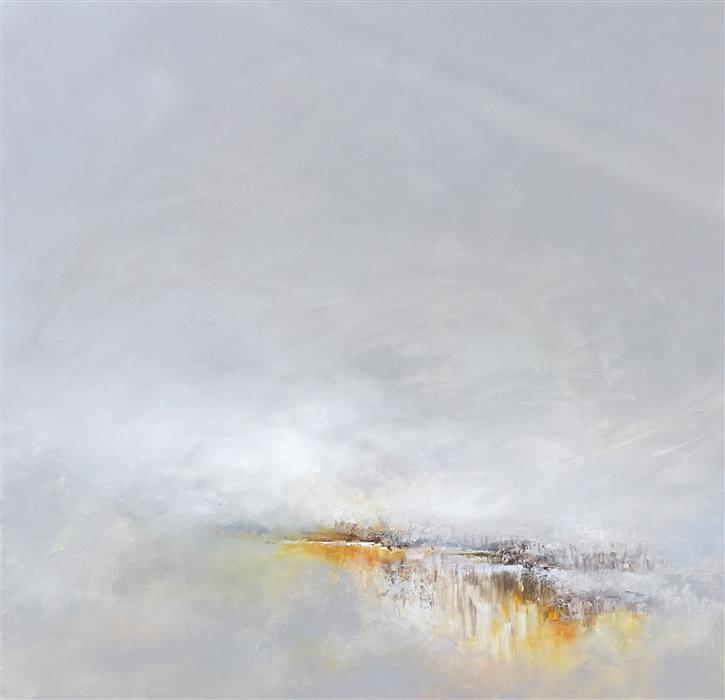 Original art for sale at UGallery.com | Swirling Storm by RUTH LAGUE | $2,700 | Acrylic painting | 30' h x 30' w | ..\art\acrylic-painting-Swirling-Storm