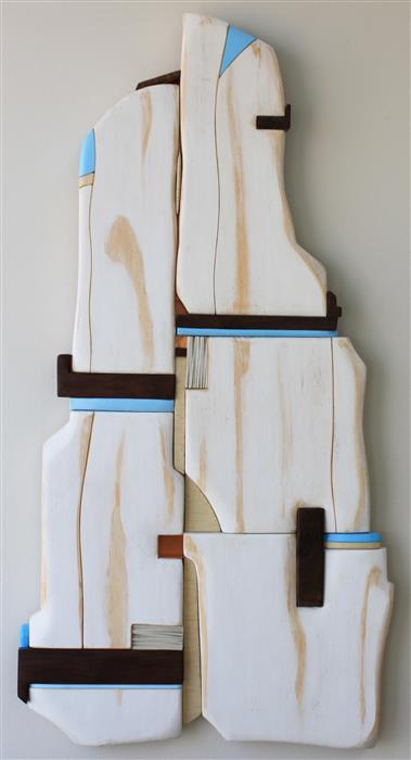 Original art for sale at UGallery.com | Ivory Tower by SCOTT TROXEL | $1,625 | Mixed media artwork | 35' h x 18' w | ..\art\mixed-media-artwork-Ivory-Tower