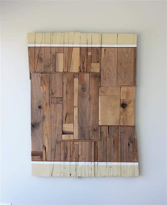 Original art for sale at UGallery.com | Auburn3 by SCOTT TROXEL | $1,975 | Mixed media artwork | 31.25' h x 24' w | ..\art\mixed-media-artwork-Auburn3