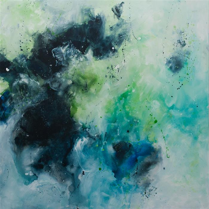 Original art for sale at UGallery.com | I Am Abundance, I Am a Touch, I Am a Light, Call Me a Sea - I Am a Woman by ELENA PETROVA | $4,150 |  | 48' h x 48' w | ..\art\acrylic-painting-I-Am-Abundance-I-Am-a-Touch-I-Am-a-Light-Call-Me-a-Sea-I-Am-a-Woman