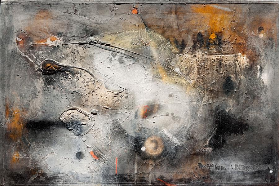 Original art for sale at UGallery.com | Void-D by ADRIANO RIBEIRO | $1,575 | Mixed media artwork | 31' h x 47' w | ..\art\mixed-media-artwork-Void-D