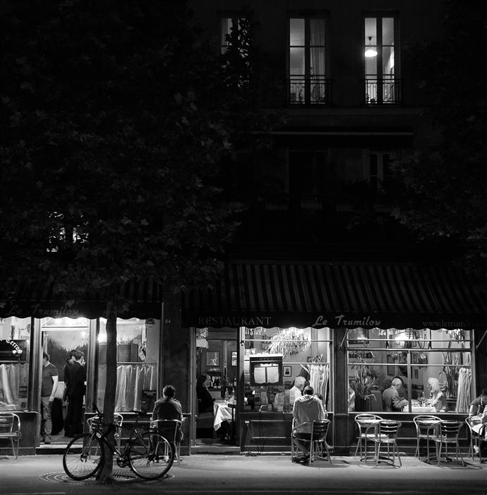 Original art for sale at UGallery.com | Paris by Night #5 by Carina Okula | $25 | photography | 20' h x 20' w | ..\art\photography-Paris-by-Night-5