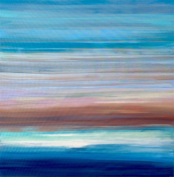 Original art for sale at UGallery.com | Ella's Landscape by ALICIA DUNN | $1,750 |  | 36' h x 36' w | ..\art\acrylic-painting-Ella-s-Landscape
