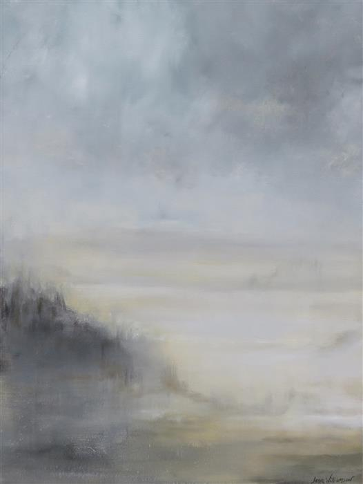 Original art for sale at UGallery.com | The Mist by Jenn Williamson | $1,025 | acrylic painting | 24' h x 18' w | ..\art\acrylic-painting-The-Mist