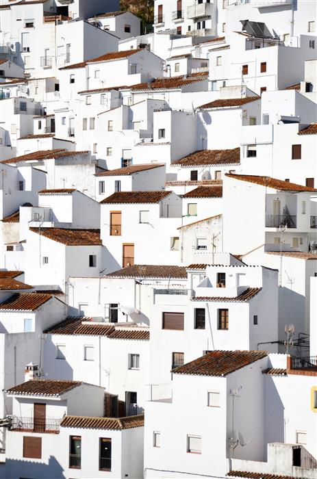 Original art for sale at UGallery.com | Los Pueblos Blancos by Carina Okula | $25 | photography | 15' h x 10' w | ..\art\photography-Los-Pueblos-Blancos