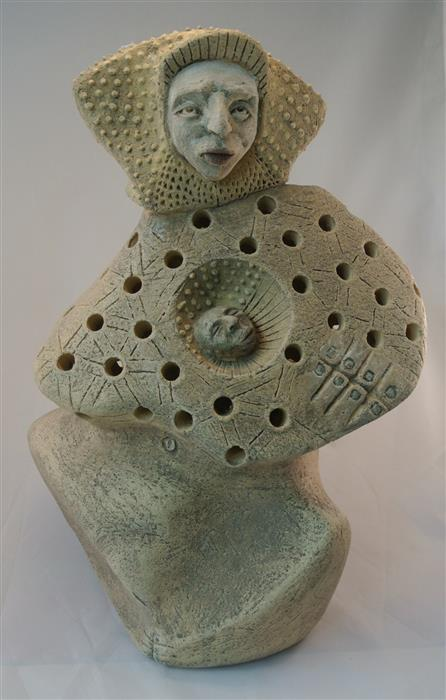 Original art for sale at UGallery.com | MOTHER 3 (1-2015D) by PEDRO MONGRUT | $1,225 |  | 19' h x 12' w | ..\art\sculpture-MOTHER-3-1-2015D