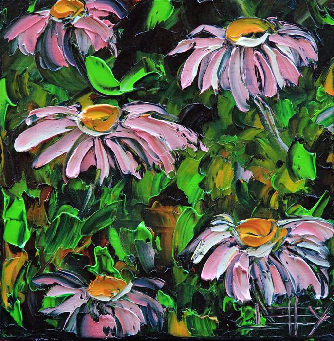 Original art for sale at UGallery.com | Spring Perfection by Lisa Elley | $300 | oil painting | 10' h x 10' w | ..\art\oil-painting-Spring-Perfection