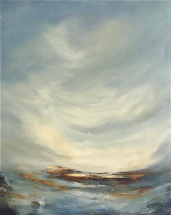 Original art for sale at UGallery.com | Restless by FAITH TAYLOR | $1,725 | Oil painting | 30' h x 24' w | ..\art\oil-painting-Restless-49894