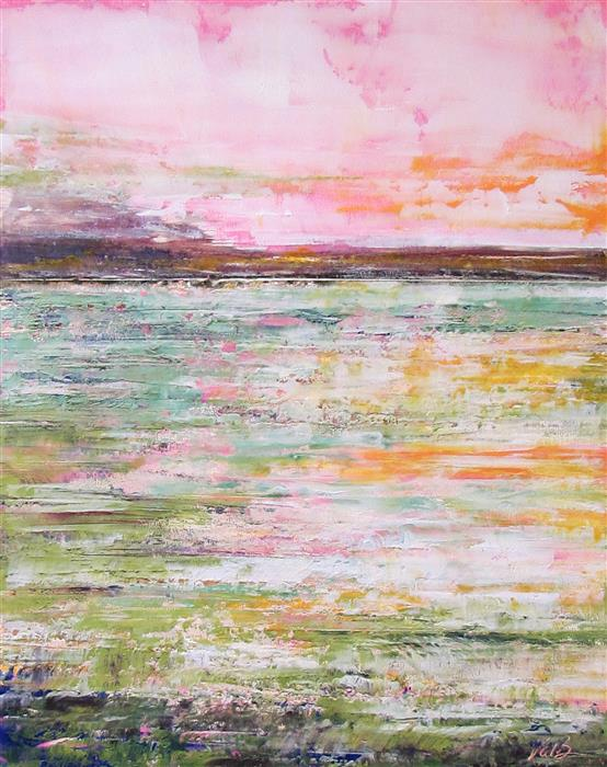 Original art for sale at UGallery.com | Spring Fling by VALERIE BERKELY | $325 |  | 14' h x 11' w | ..\art\oil-painting-Spring-Fling