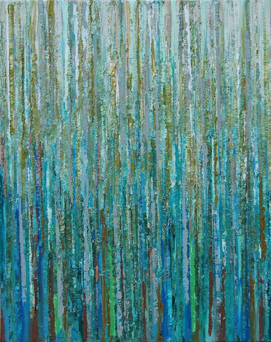 Original art for sale at UGallery.com | S130 by JANET HAMILTON | $575 |  | 20' h x 16' w | ..\art\mixed-media-artwork-S130