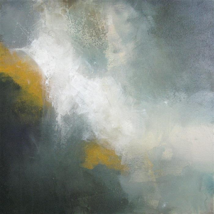 Original art for sale at UGallery.com | Through the Mist by KAREN HALE | $1,025 | Acrylic painting | 20' h x 20' w | ..\art\acrylic-painting-Through-the-Mist