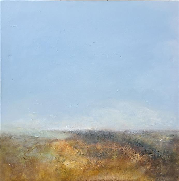 Original art for sale at UGallery.com | Sun Breaks Through by RUTH LAGUE | $2,700 |  | 30' h x 30' w | ..\art\acrylic-painting-Sun-Breaks-Through
