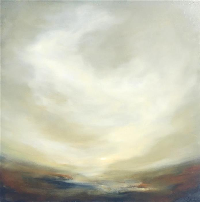 Original art for sale at UGallery.com | Dwell in the Possibilities by FAITH TAYLOR | $1,250 |  | 24' h x 24' w | ..\art\oil-painting-Dwell-in-the-Possibilities