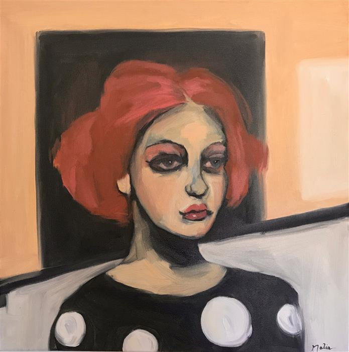 Original art for sale at UGallery.com | After the Show by Malia Pettit | $850 | oil painting | 20' h x 20' w | ..\art\oil-painting-After-the-Show