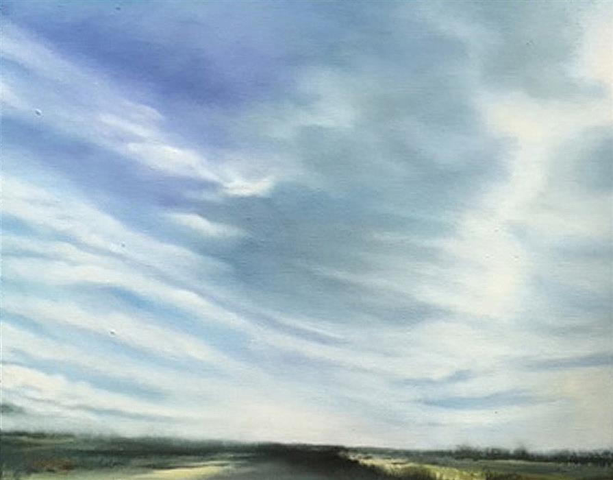 Original art for sale at UGallery.com | Backcountry Road by Kelly Money | $475 | oil painting | 16' h x 20' w | ..\art\oil-painting-Backcountry-Road