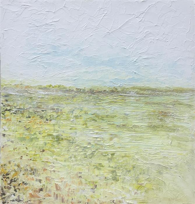 Original art for sale at UGallery.com | Trees in the Clearing by RUTH LAGUE | $2,700 |  | 30' h x 30' w | ..\art\acrylic-painting-Trees-in-the-Clearing
