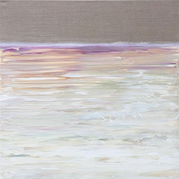 Original art for sale at UGallery.com | Purple Horizon by RUTH LAGUE | $1,150 | Acrylic painting | 20' h x 20' w | ..\art\acrylic-painting-Purple-Horizon
