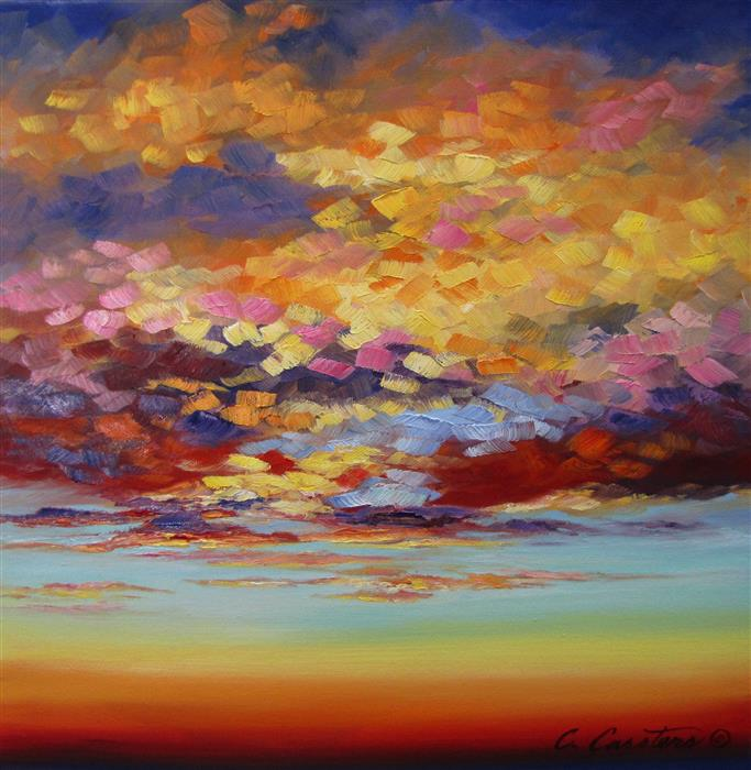 Original art for sale at UGallery.com | Magical Inclinations by CYNDY CARSTENS | $625 |  | 12' h x 12' w | ..\art\oil-painting-Magical-Inclinations